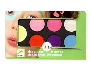 Djeco παλέτα μακιγιάζ 6 χρώματα Παστέλ