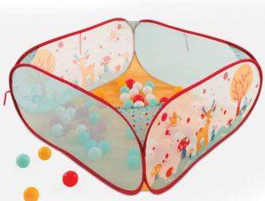 Ludi Βρεφικό πάρκο pop-up, με 50 μπαλάκια Κουνελάκι