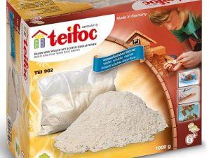 Teifoc Χτισίματος εξάρτημα τσιμέντο 1 κιλό