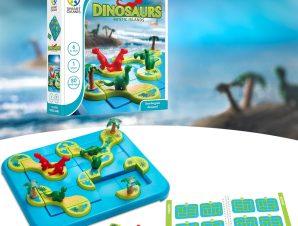 Smartgames επιτραπέζιο Το νησί των δεινοσαύρων