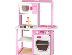 Viga Ξύλινη Κουζίνα Ροζ