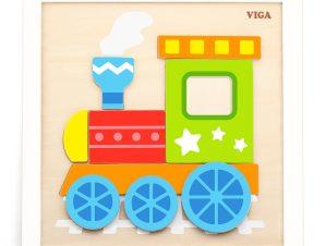 Viga DIY Ζωγραφίζω Κορνίζα Τρένο