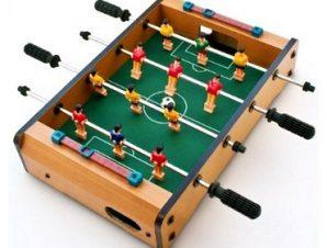 Επιτραπέζιο ποδοσφαιράκι μικρού μεγέθους