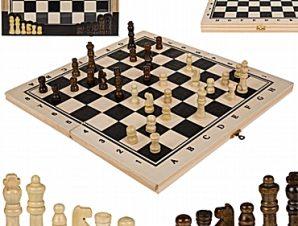 Ξύλινο σκάκι 34 εκ.