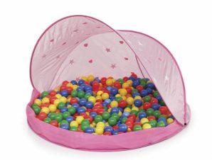 Paradiso Toys Παιδική Σκηνή με 50 μπαλάκια ροζ